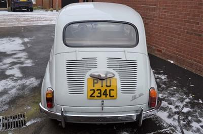 Lot 1965 Fiat 600 D