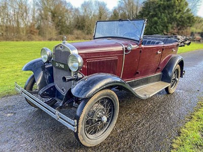 Lot 1930 Ford Model A Tourer