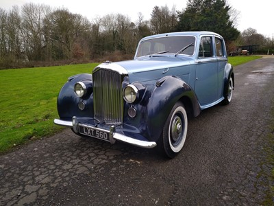 Lot 23 - 1951 Bentley Mark VI Saloon