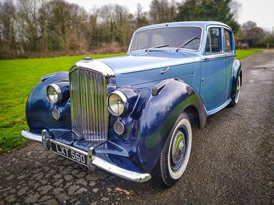 Lot 1951 Bentley Mark VI