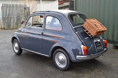 Lot 242 - 1963 Fiat 500 D
