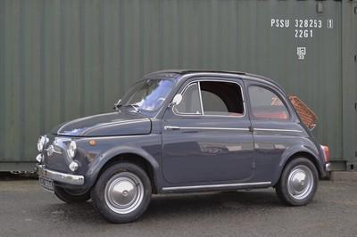 Lot 1963 Fiat 500 D