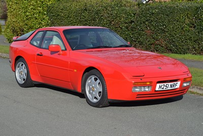 Lot 1991 Porsche 944 Turbo