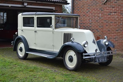 Lot 216 - 1929 Renault NN2 Saloon