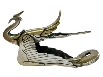 Lot 73 - Cygne Sauvage Accessory Mascot by Frederick Bazin, c1920s