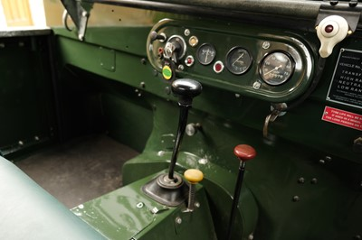 Lot 213 - 1950 Land Rover Series 1