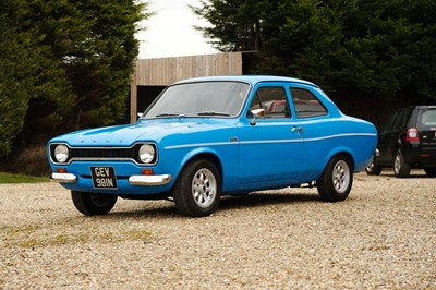 Lot 1974 Ford Escort RS1600 Evocation