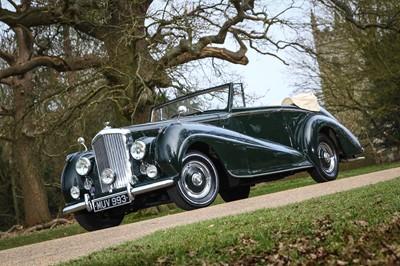 Lot 1952 Bentley MKVI 4.5 Litre Drophead Coupe
