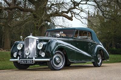 Lot 67 - 1952 Bentley MKVI 4.5 Litre Drophead Coupe