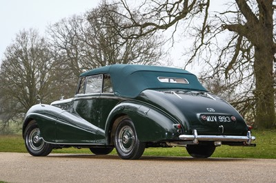 Lot 1952 Bentley MKVI 4.5 Litre Drophead Coupe