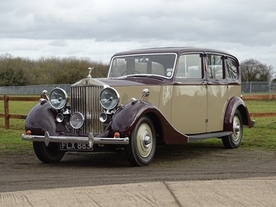 Lot 96 - 1939 Rolls-Royce Wraith Limousine