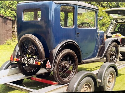 Lot 1930 Austin 7 RK Saloon