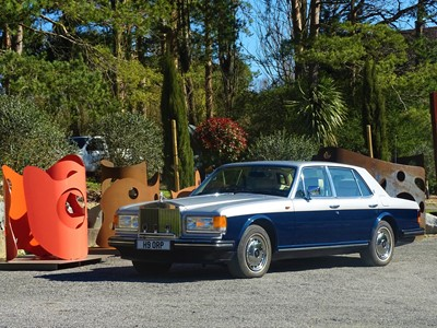 Lot 1990 Rolls-Royce Silver Spirit II