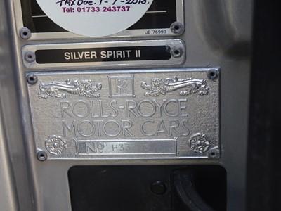 Lot 1990 Rolls-Royce Silver Spirit II