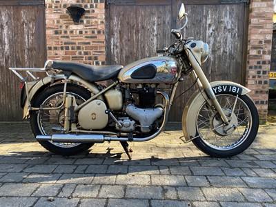 Lot 138 - 1955 BSA A10 Golden Flash