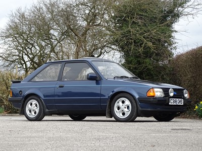 Lot 228 - 1985 Ford Escort XR3i