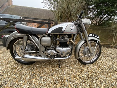 Lot 1955 Norton Dominator 99