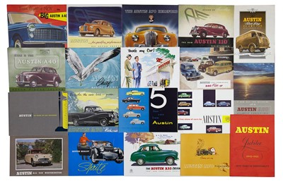 Lot 7 - Quantity of Austin Sales Brochures