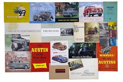 Lot 7 - Quantity of Austin Sales Brochures