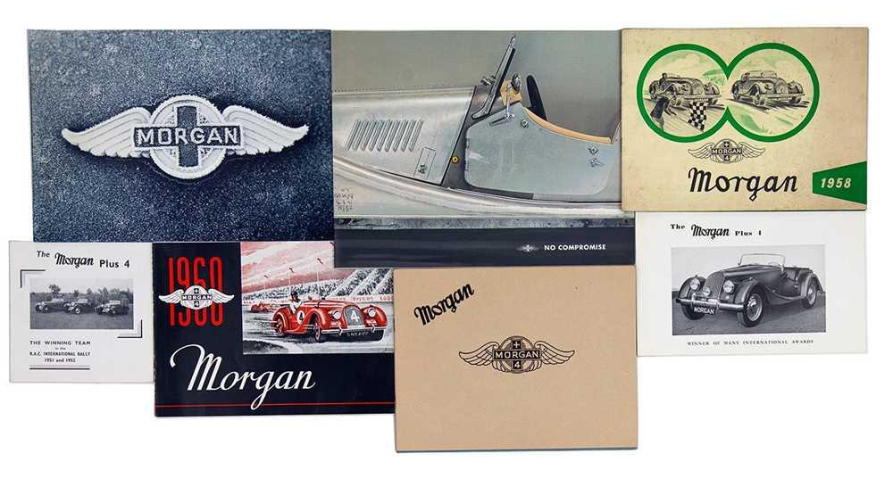 Lot 14 - Quantity of Morgan Sales Brochures