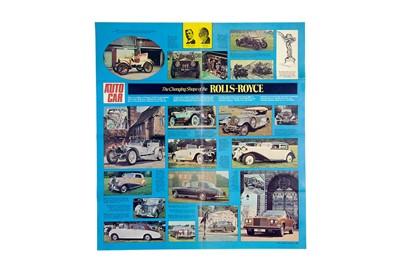 Lot 16 - Quantity of Rolls-Royce / Bentley Sales Literature