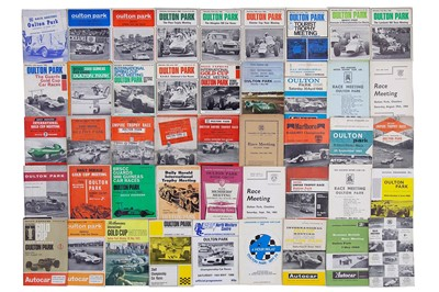 Lot 19 - Quantity of Oulton Park Race Meeting Souvenir Programmes