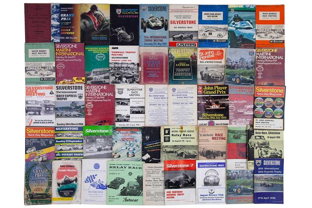 Lot 20 - Quantity of Silverstone Race Meeting Souvenir Programmes