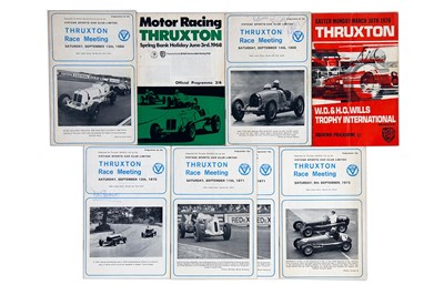 Lot 21 - Quantity of British Race Event Souvenir Programmes
