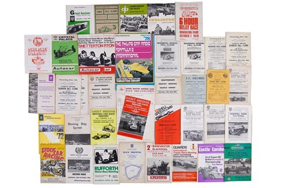 Lot 22 - Quantity of Assorted Race Programmes