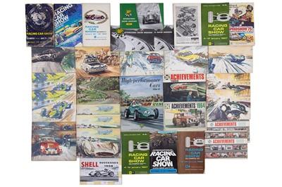 Lot 23 - Assorted Motor Racing Lot
