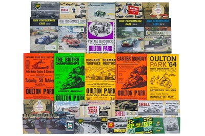 Lot 23 - Assorted Motor Racing Lot