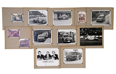 Lot 25 - A Collection of Period Rallying Photographs