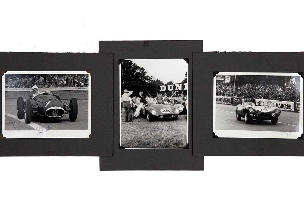 Lot 27 - Three Signed Large-Format Period Photographs