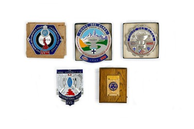 Lot 45 - Quantity of Rallying Awards
