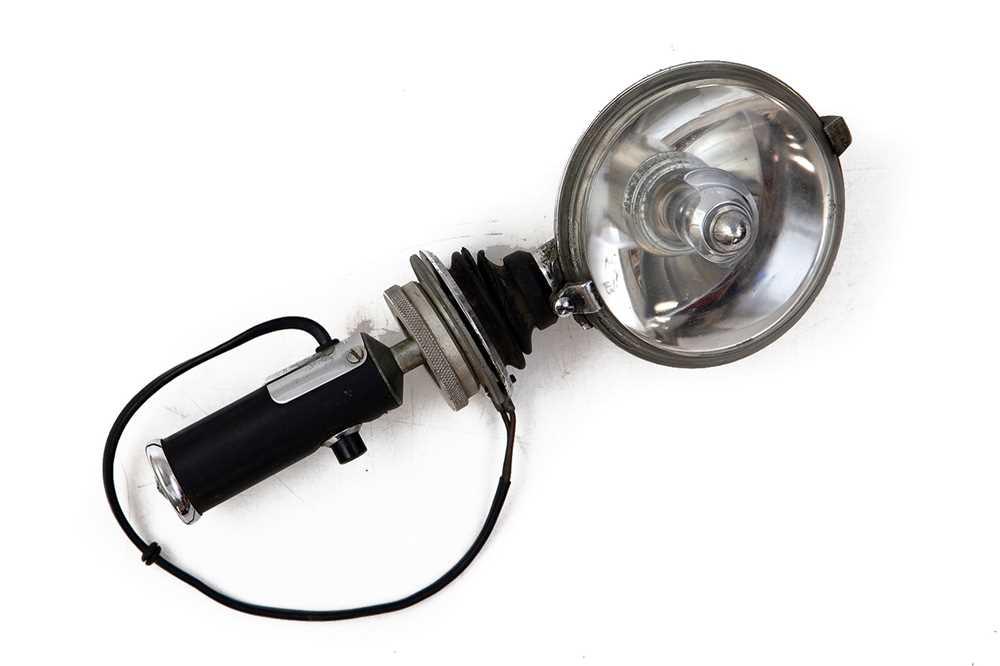 Lot 49 - Lucas SLR 576 Roof-Mounted Rallying Spotlamp