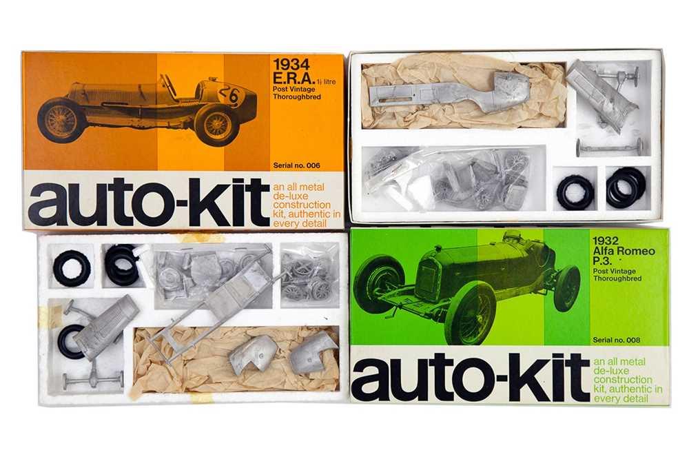 Lot 53 - Two Auto-Kit Grand Prix Metal Models