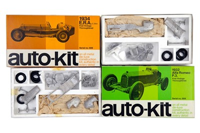 Lot 53 - Two Auto-Kit Grand Prix Metal Models