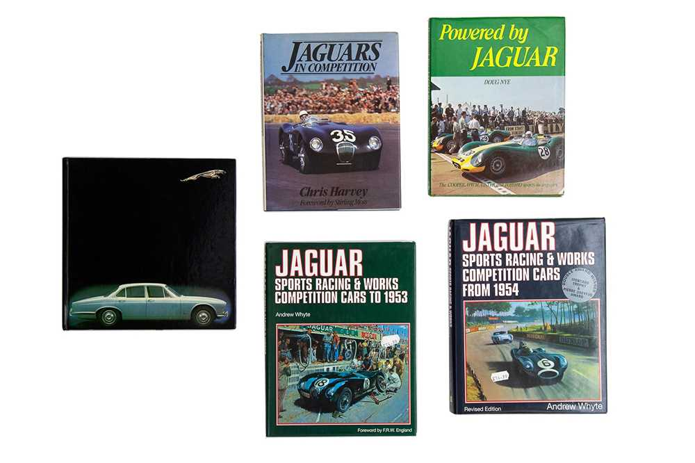 Lot 55 - Five Titles Relating to the Jaguar Marque