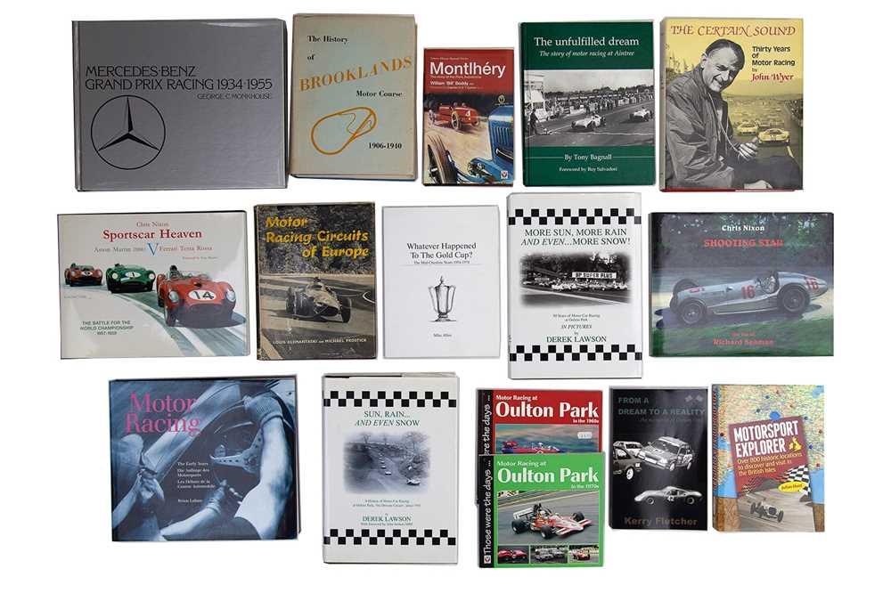 Lot 59 - Sixteen Motor Racing Titles