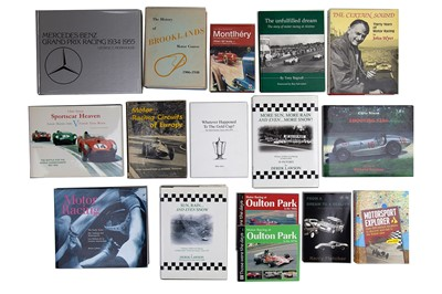 Lot 59 - Sixteen Motor Racing Titles