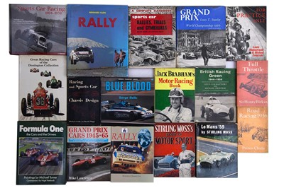 Lot 60 - Forty-Three Motor Racing / Rallying Titles