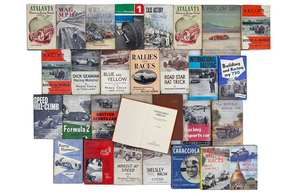 Lot 61 - Thirty Motoring Books