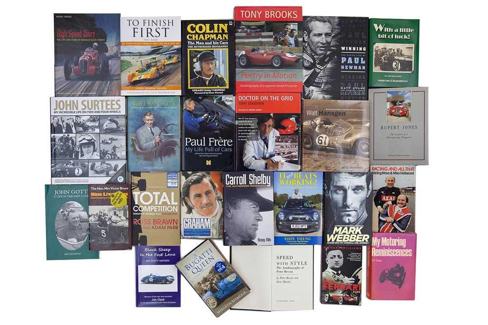Lot 64 - Twenty-Five Autobiography Titles