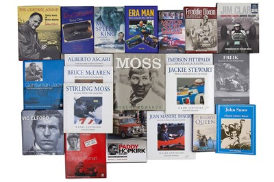 Lot 65 - Twenty-Six Autobiography Titles
