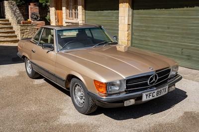 Lot 1981 Mercedes-Benz 500 SL
