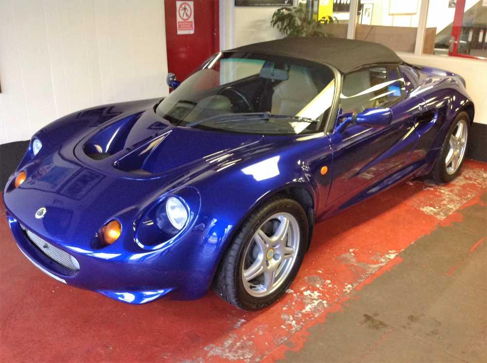 Lot 1998 Lotus Elise