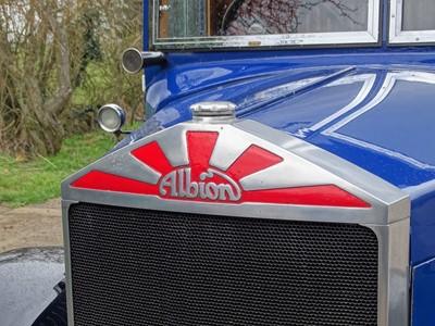 Lot 1936 Albion SPL 126 Van