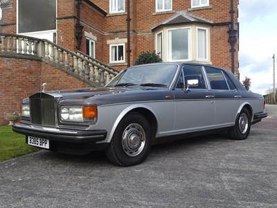 Lot 219 - 1985 Rolls Royce Silver Spirit