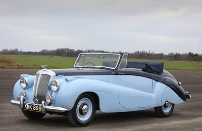 Lot 76 - 1952 Daimler DB18 Special Sports Drophead Coupe
