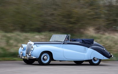 Lot 1952 Daimler DB18 Special Sports Drophead Coupe